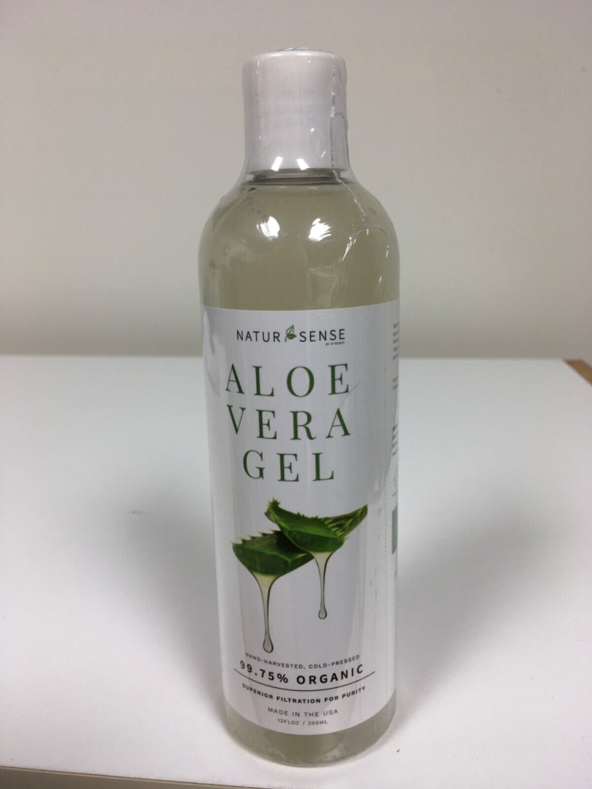 NaturSense Organic Aloe Vera Gel Great for Face, Hair, Sunbu