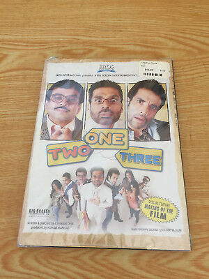 One Two Three   Eros International Dvd  New