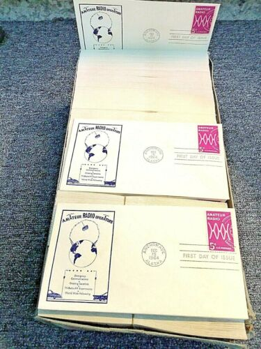 1964 AMATEUR RADIO, 1st DAY OF ISSUE ENVELOPE ANCHORAGE ALASKA, LOT OF 500-600