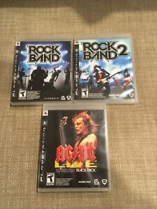 Rock band games for PS3