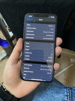 Apple iPhone 11 Pro Max - 64GB - MidnightGreen (AT&T) A2161 (CDMA + GSM)