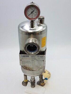 Aerni Ar139 Air Pressure Seal Tank 25bar 1.44351.4404 Ar 139 Ar-139 Stainless