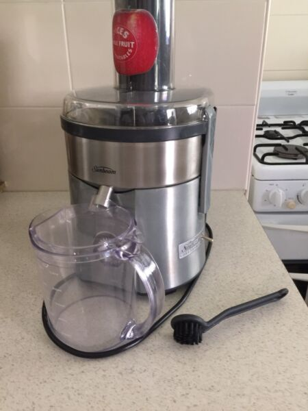 Breville chrome compact juicer
