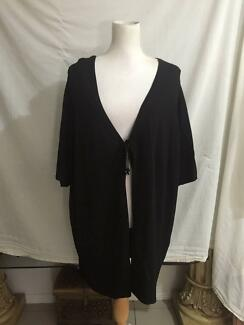 New Autograph 'Ki' Black Longer Length Lightweight Knit Jacket XL
