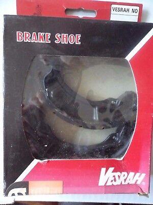 BRAKE SHOES <em>YAMAHA</em> TY250 YZ125 IT200  Y517 VESRAH GROOVED