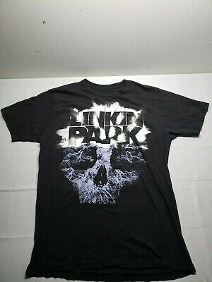 Retro LINKIN PARK Concert Men's L T-Shirt