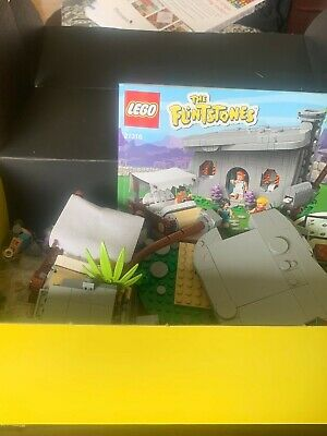 Lego Ideas - Flintstones 100% Complete #21316 - excellent, in box, with manual