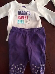 Newborn Baby Girl clothes and diapers