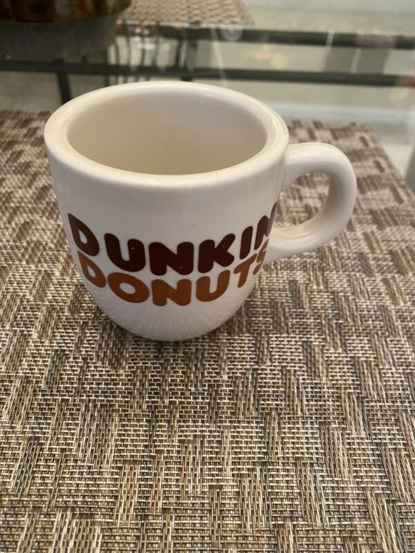 Rego Dunkin Donuts Vintage Coffee Mug  3 Inches Cup Mug Small