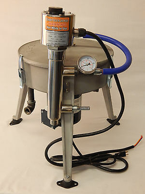 Ultimate Force Centrifuge 120v W 1500 Watt Heater Waste Oil Biodiesel Wvo