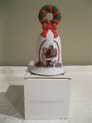 AVON 1995 PORCELAIN CHRISTMAS BELL