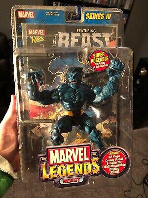Marvel Legends Series IV 4 Beast 2003 ToyBiz X-Men New Sealed Mib