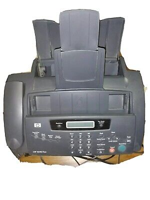 Hp Hewlett-packard 1040 Thermal Inkjet Fax Machine Telephone Copier Gray 2004