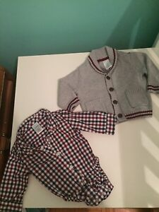 Boys clothes -dress up for Christmas! 3-6months