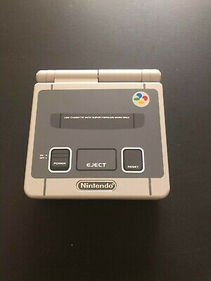 Nintendo GameBoy Advance SP Super Famicom Edition AGS-001; Tested