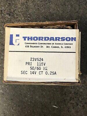 Thordarson 23v524 New In Box. Step Down Transformer 115 V To 14 V