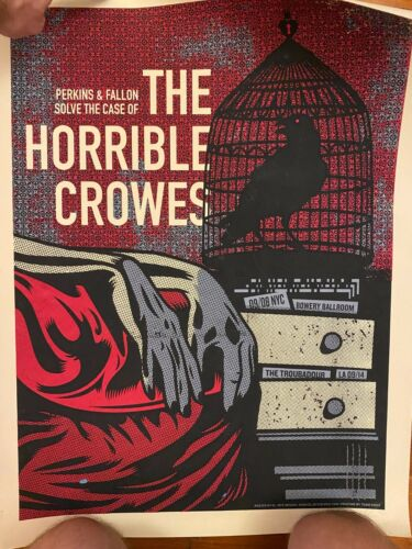 The Horrible Crowes Brian Fallon Gaslight Anthem Tour Poster