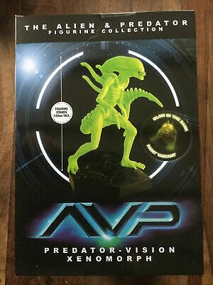 Eaglemoss Aliens AVP Predator visión Brilla en la oscuridad - Figura de...