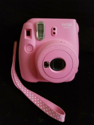 Fujifilm Instax Mini 9 Instant Film Camera - Flamingo Pink