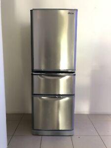 Mitsubishi Fridge 375L Bottom Freezer VGC