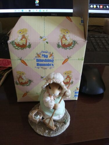 1996 MY BLUSHING BUNNIES KINDNESS 204692 WITH PAPER