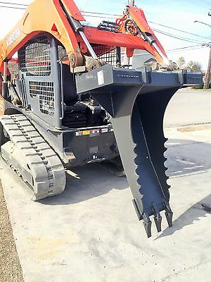 Bobcat Skid Steer Attachment Stump Bucket Extreme Duty Dig Spade - Ship For 199