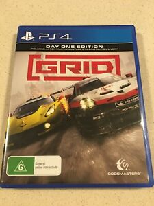 PS4 Playstation Racing Game GRID Day One Edition