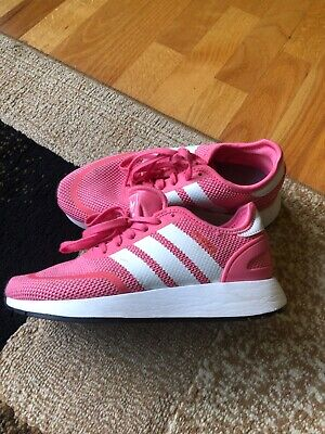 Adidas Girls Pink N-5923 Sneakers Gymshoes US size 4
