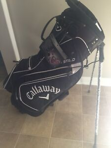 New Callaway stand golf bag