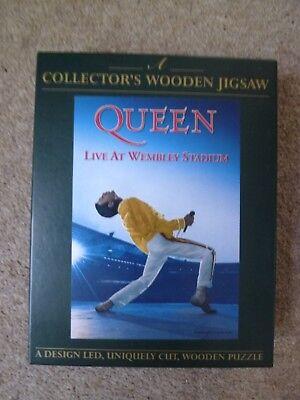 Queen - Live At Wembley Collectors Wooden Jigsaw