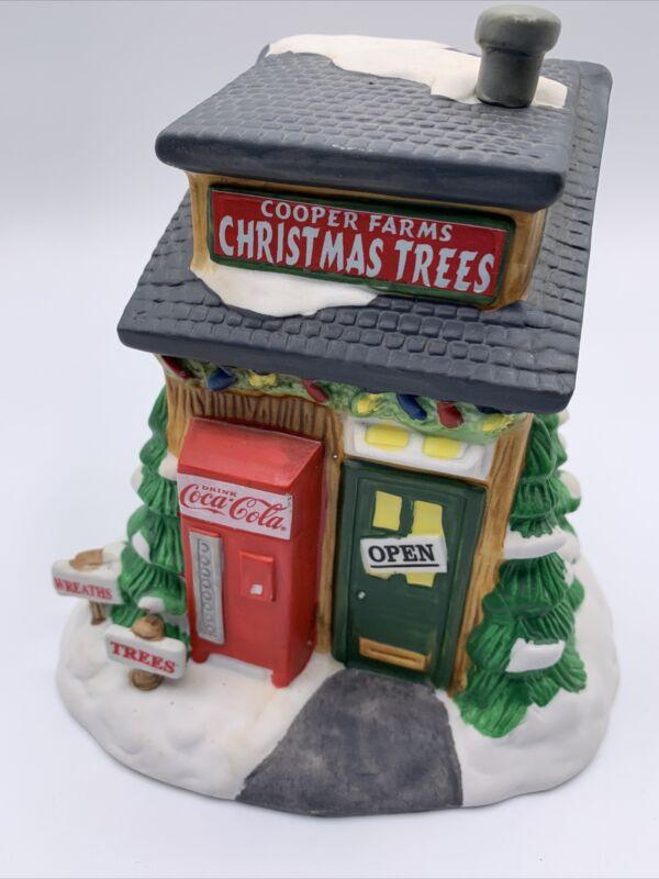 1996 Coca-Cola Cooper Farms Christmas Trees Town Square Village