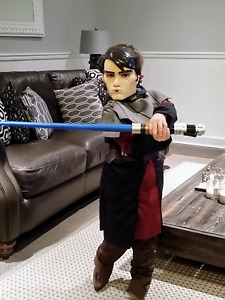 Star Wars Anakin Skywalker Halloween Costume kids sz 6-7
