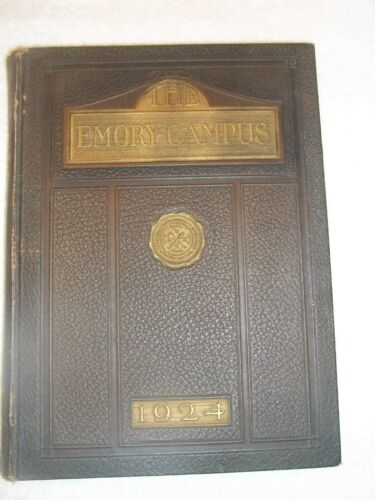 1924 EMORY UNIVERSITY THE CAMPUS