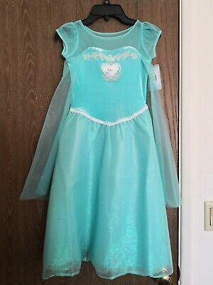 Disney Princess Frozen Elsa dress size 6 NEW