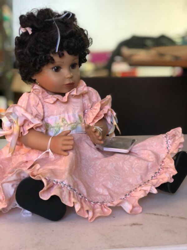 """Laylie Colbert Doll, Retired, Life of Faith Doll, 18"""""""