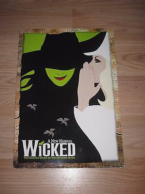 2003 Wicked Broadway Program Idina Menzel Signed By Jennifer Laura Thompson