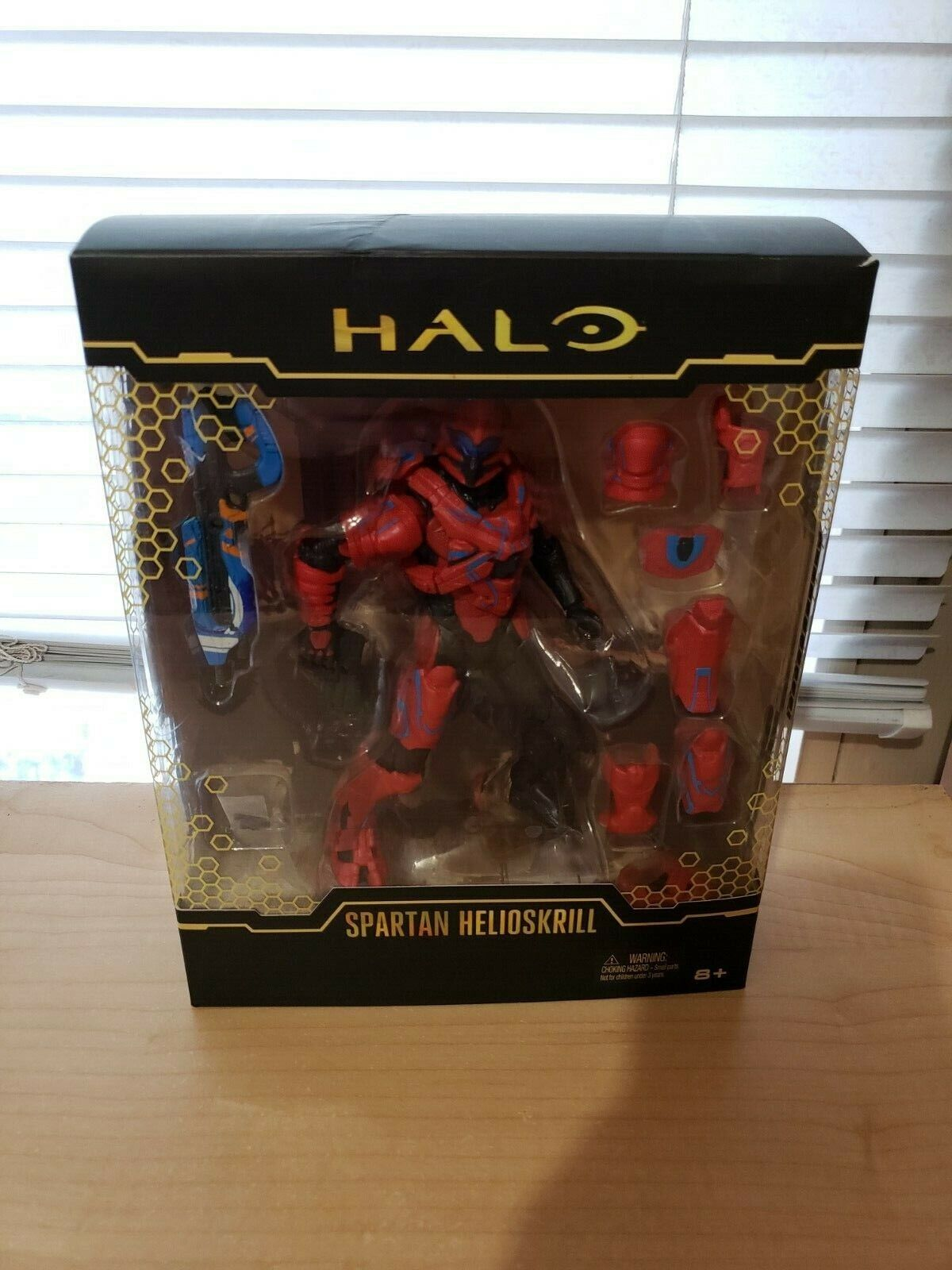 SDCC 2016 EXCLUSIVE MATTEL HALO SPARTAN HELIOSKRILL 6 inch