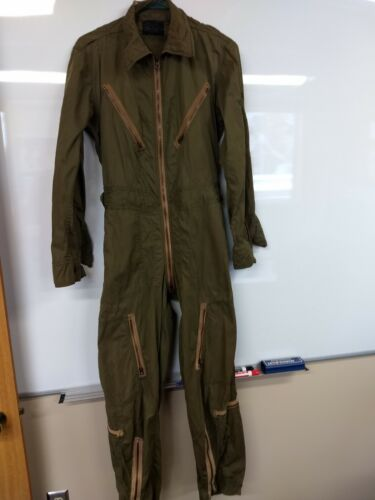 Green flight Suit, Type: K-1, worn condition
