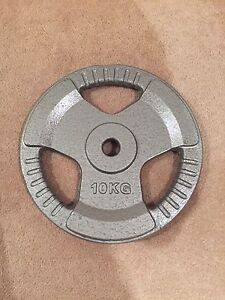 10 kilogram weight plate barbell great condition as good as new Meadowbank Ryde Area Preview
