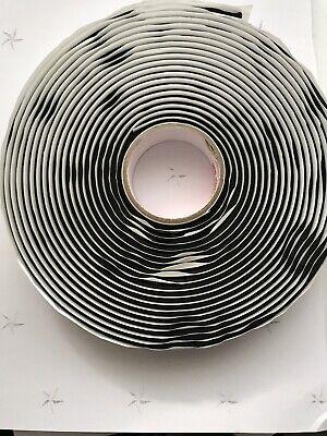 Lot Of 5 Airtech Gs333 18 12 25ft Temp Vacuum Bag Sealant Tape Seal Black