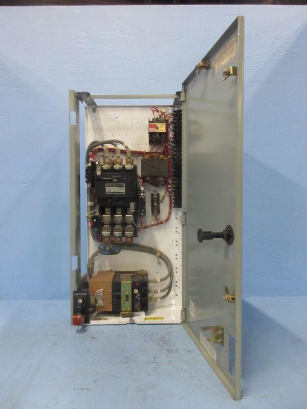 "General Electric GE 8000 Size 3 Starter 50 Amp Breaker Type 30"" MCC Bucket 50A"
