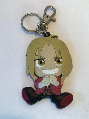 Fullmetal Alchemist Anime Rubber Keychain Edward Elric Ed Hiromu Arakawa