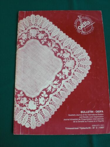 OIDFA-The International Bobbin and Needle Lace Organisation Bulletin 3-1997
