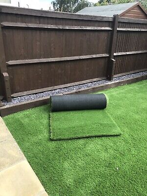 Artificial Grass 'Sandringham' 40mm Thick Realistic Lawn Grass 6mx1m