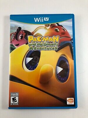 Pac-Man and the Ghostly Adventures Nintendo Wii U Complete Great Condition