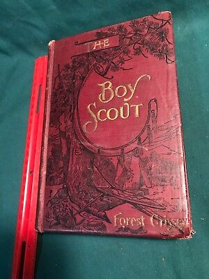 1902, The Boy Scout, Forrest Crissey (1864-1943), Northwest Adventures, Uncommon
