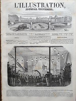die 1845 Abbildung n 138 theatralische Darstellung hat die