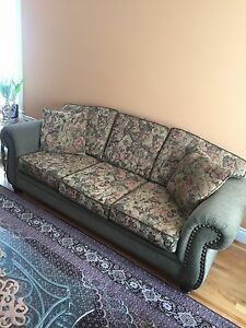 Sofa and two love seats for sale