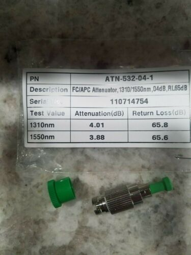 Senko FC APC Attenuator 4db ATTN-532-04-1
