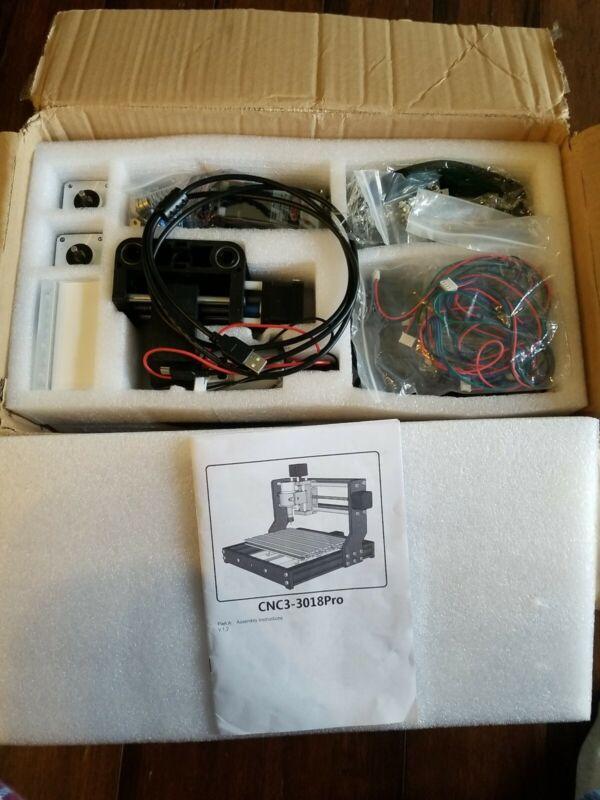 2 in 1 3000mW Engraver CNC 3018 Pro GRBL Control 3Axis Mini Pcb Router Machine